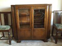 Oak cabinet - excellent condition