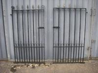 Single Wrought Iron Gates