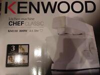 Brand New Kenwood KM330 Classic Chef Kitchen Machine