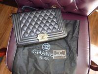 Chanel Le Boy large size / gold hardware