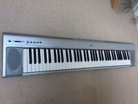 76 Key Portable Grand (Silver) - Yamaha NP30