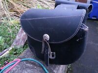 PANIER BAGS BLACK LEATHER