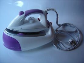 MORPHY RICHARDS 42244 : Jet Steam Generator Iron, with Diamond soleplate - White / Purple