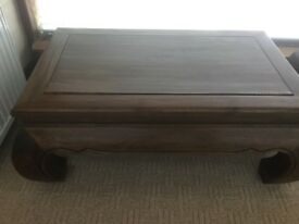 Lovely Opium style Coffee Table solid Teak