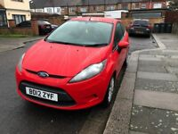 2012 Red Ford Fiesta 3dr