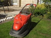 Flymo electric lawnmower
