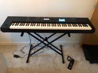 Roland Juno DS 88 keyboard new with a case warranty 2.6 years left