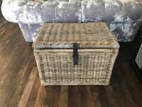 Ikea Byholma wicker basket
