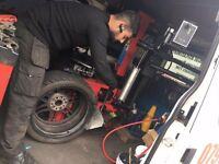 24hour mobile tyre emergency service london puncture flat tyres fitter fitting services breakdown