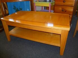 Solid Wood Coffee Table - CHARITY