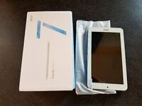 Acer Iconia One 7 16GB Wi-Fi - Blue brand new not samsung s7 iphone