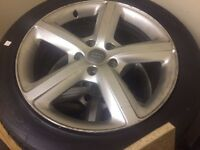 Audi Q7 s line alloy wheels