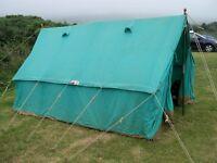 Icelandic II canvas patrol tent