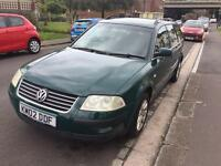 VW Passat 1.9TDI Diesel 5Dr Estate 2002 Long MOT