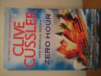 CLIVE CUSSLER - ZERO HOUR - (Kirkby in Ashfield)
