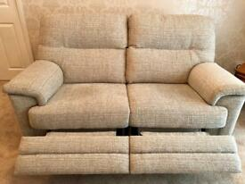 G Plan Two Seater Sofa and Chair (new)