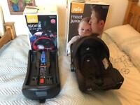 Joie Juva baby car seat and Isofix base
