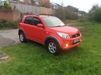 daihatsu terios 1.5 sx 4x4 2007 one previous owner