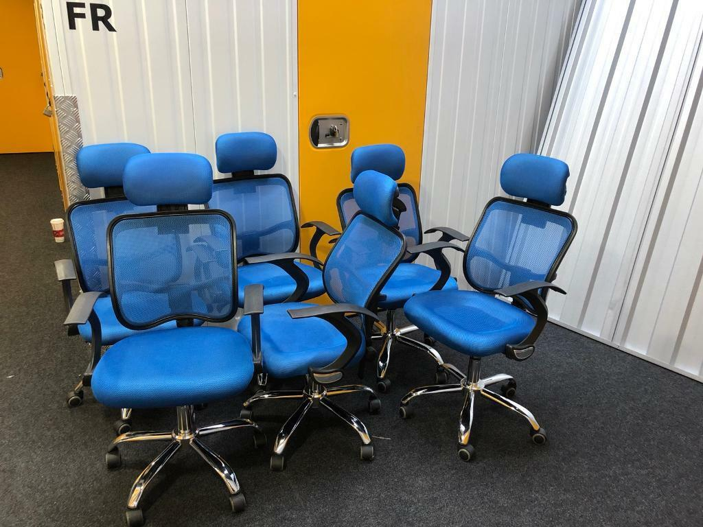 Set of 6 Office Desk Chairs