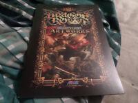 Dragons Crown Artwork Book Very Rare