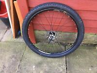 27.5front wheel good condition