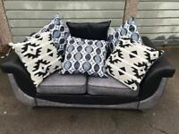 New 2 Seater Grey Sofa