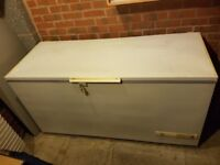 5ft White Chest Freezer in great working order