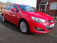 2014 VAUXHALL ASTRA 2.0 CDTi 16v ELITE SPORTS ESTATE ECONOMY 1 OWNER FROM NEW