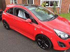 2012 vauxhall corsa limited edition