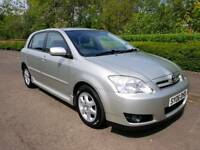 2006 TOYOTA COROLLA D-4D DIESEL COLOUR COLLECTION * VERY LOW MILEAGE *