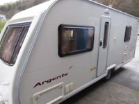 Avondale Argente 555-4 4 Berth Fixed Bed 2006