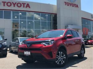 2017 Toyota RAV4 LE|LOW KM|FWD|HEATED SEATS|SAFETY SENSE
