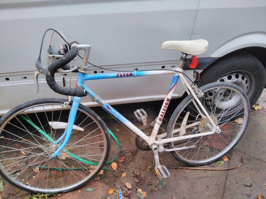 Kid's retro Raleigh flyer road bike