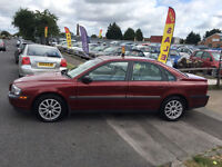 VOLVO S80 2.4 AUTOMATIC-2003 FULL SERVICE HISTORY MOT-ALLOYS LEATHER CD -WE CAN DELIVER TO YOU