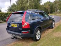 Volvo XC90 d5 Automatic 2.4 diesel family 7-seater full leather n full year mot