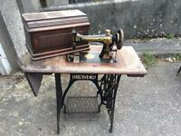 Vintage treble singer sewing machine - free local delivery