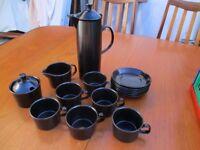 Retro Wedgewood coffee set.