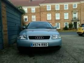 Audi A3 quick sale, 1.6 petrol