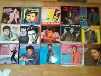 """49 X Shakin stevens collection 19 x vinyl lp's / 5 x 7"""" picture discs / 8 x cds / 17 x 7"""" singles"""