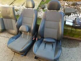 Corsa c / combo 3door half leather seats