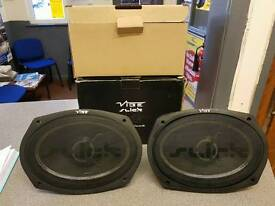 Vibe slick 420w 6x9 speakers