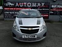 12 plate Chevrolet Spark Plus 1ltr 5dr hatchback only 29k £30 a yr road tax