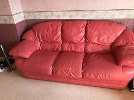 Excellent condition 3 seater and 2 seater sofas