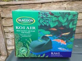 Blagdon Koi Air KA65 Pump New