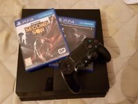 PS4 (All accessories + 2 games)