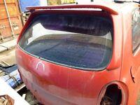 Corsa B rear spoiler