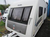 Elddis Chatsworth 6 berth fixed bunks touring caravan 2013