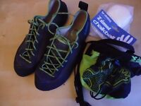Climbing / Bouldering kit: Shoes and Chalk Bag