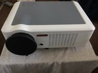 Projector DBPOWER LED-66 Excellent Condition (As new) Includes HDMI, Cables, Manual and Box.