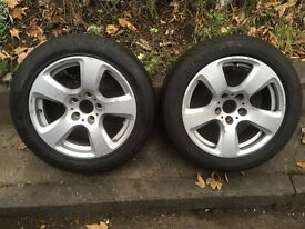 alloy wheels size 17 with german tyres